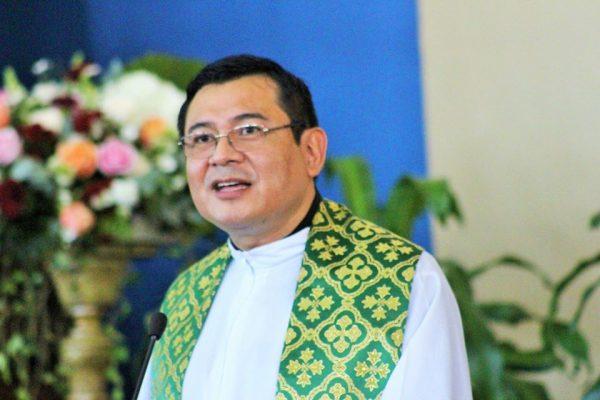 Bienvenida a nuestro nuevo párroco Padre Reinaldo Sorto